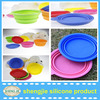 New Design Silicone Dog Bowls Collapsible Portable Travel Pet Water