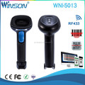 Low Cost Wirless Handheld USB 2d barcode scanner RF433 Barcode reader