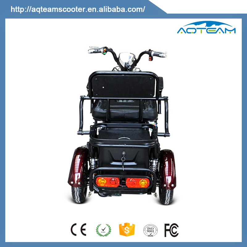China Manufacturer 2 Seat Electric Mobility Scooter For Adults, Custom Two Seat E Mobility Scooter