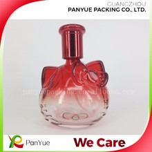 50ml animal shaped red color perfume glass bottles with Personal Care Industrial Use