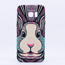 Original Luxo Fashion TPU Mobile Phone Case King Style II Luminous Animal Phone Case For Samsung Galaxy S7 / S7 Edge