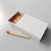 High Quality Paper packaging Matchbox