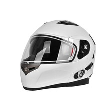 Hot Selling FM Motorcycle BT Helmet Built in Mini Intercom System