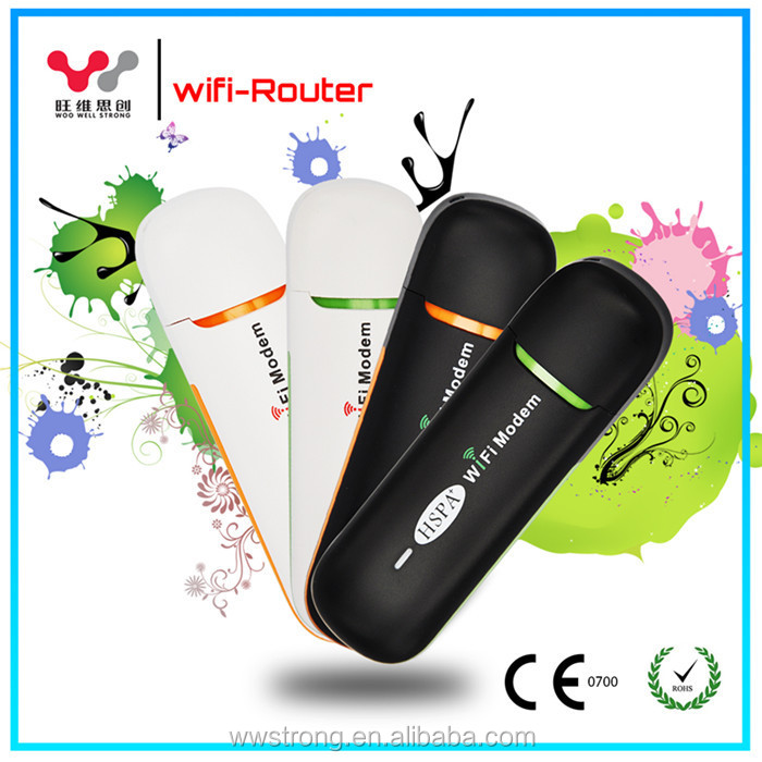 2016 new promotion portable mobile wifi hotpspot 3g wifi usb dongle