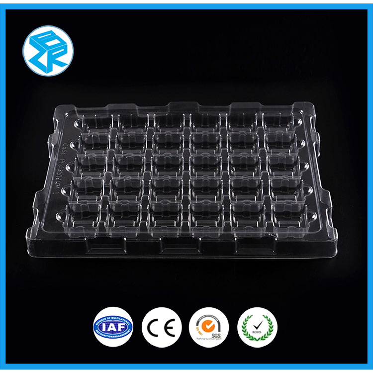 Factory price samll palstic clear pvc blister tray