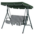 Garden Chair | Garden Hammock Chair | Three 3 Seat Patio Swing Chair | Leisure Chair