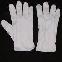 China manufacturer polyester electrical safety gloves