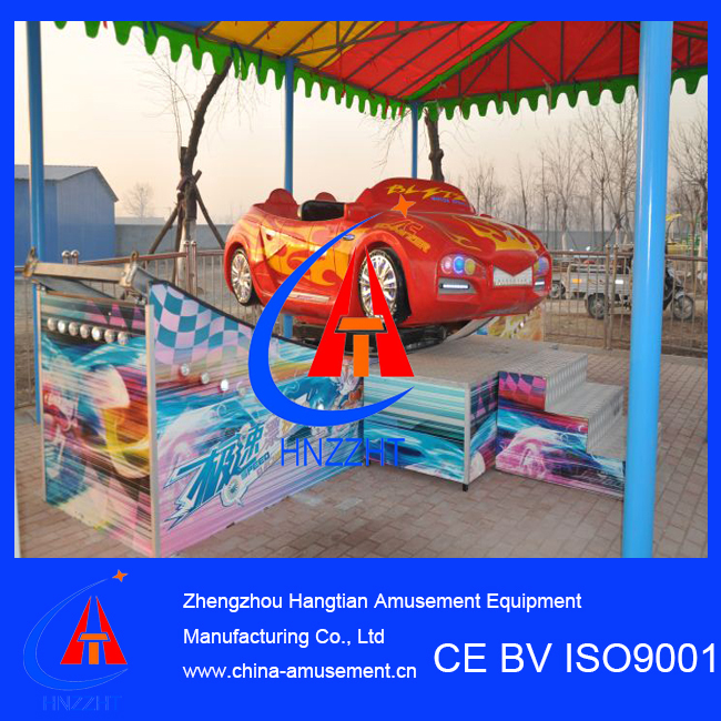 Rotating Equipment Mini Flying Car Park Ride Attraction Amusement Machine