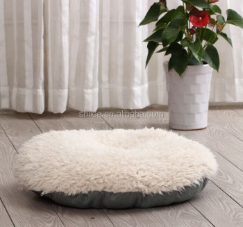 Hot sale Bird nest shape plush pet nest dog cushions
