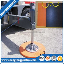 Construction outrigger pad/outrigger mats for construction elevator part