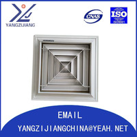 rectangle ceiling air conditioning diffuser