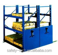 Moving wearhouse storages racks , Moving compact shelving