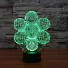 FS-3143 color change led night light cute small decorative lamps table lamp fancy table lamp