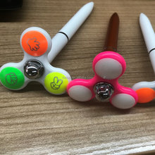 2017 hot selling hand spinner pen promotion creative fidget spinner pen