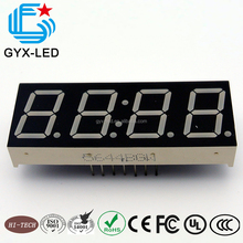 Wholesale red color 7 segment led Display for wooden alarm clock