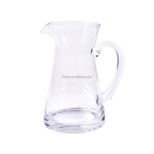 Hand Blown Hand Blown Decorative Glass Water Pitcher for Wedding