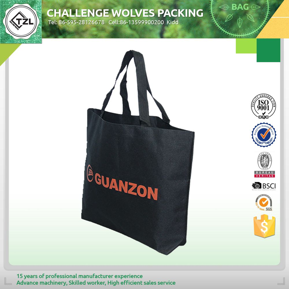 Customized printing tote shopping bag