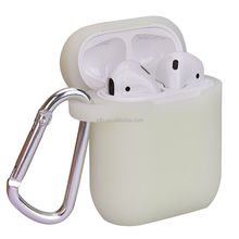 Protecitive À Prova de Choque Caso Capa de Silicone e Alça Anti-lost para Apple AirPods