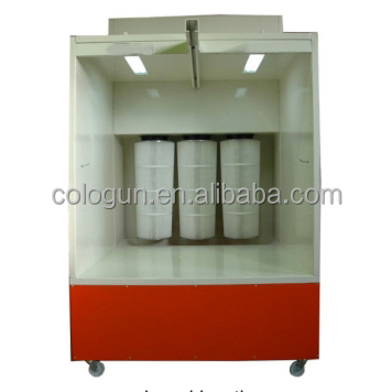 Thermal car powder paint spray booth