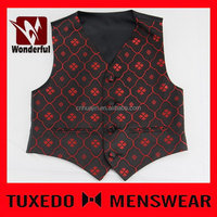 Quality top sell new style turtle neck man's waistcoats