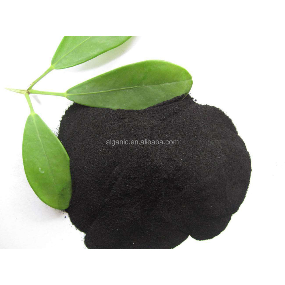 High effective 100% Water Soluble Organic Seaweed Fertilizer Powder