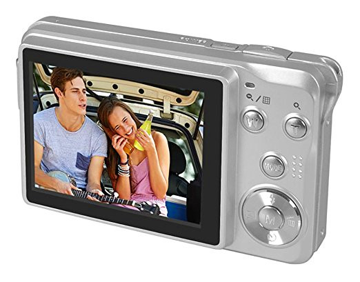 "CDOL3 2.7"" TFT Color LCD screen 15MP HD Red-eye reduce Digital camera Digital video camera with 4x optical/digital zoom"