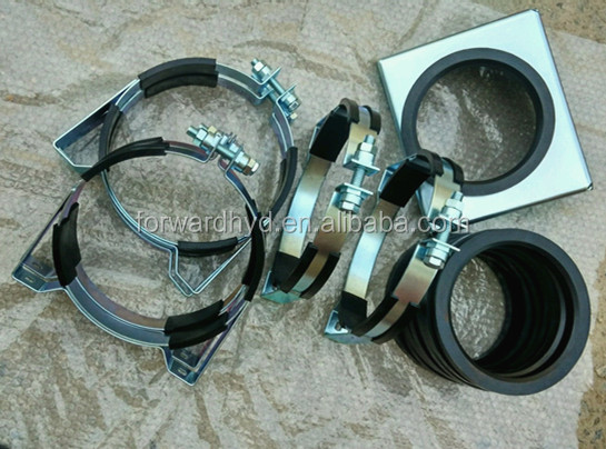 customoized round tube clamp for support pipe