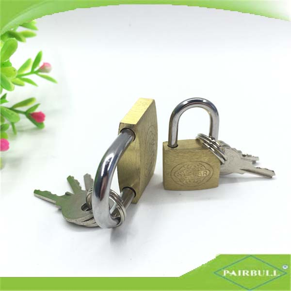 high security padlock 50mm motorcycle master brass lock