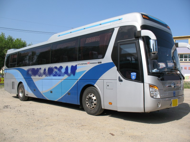 2010Y Hyundai good prices Universe Noble BUS FOR SALE From Korea