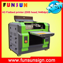 colorful a3 a4 size FS-5528 Water cooling uv printer with high speed