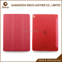 back stand PU tablet case for ipad pro 9.7 with dormancy magnet