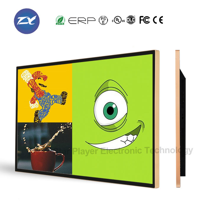 46 inch 47 inch wall mounted advertising board LCD LED TV player