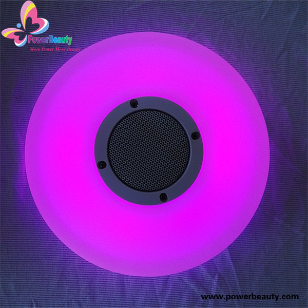 2016 New Waterproof bluetooth speaker Outdoor Portable wireless Speaker with led light
