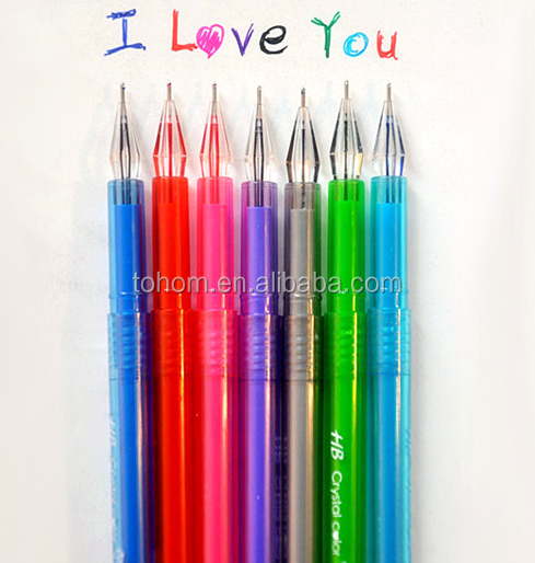 Best selling multi colors gel pen indelible gel ink pen