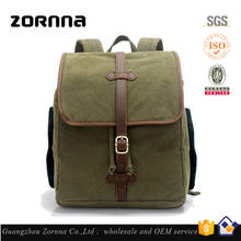 Multi-color functional outdoor climbing structure army green 30l natural canvas backpack