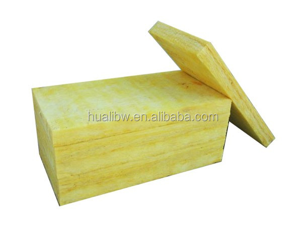 heat insulation 25mm 96kg/m3 fiber glass wool air conditioner duct board