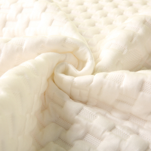 Home Textile Knitted quilted waterproof Mattress border protector Fabric,knitted jacquard printed mattress ticking fabric