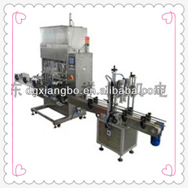 XBGZJ-6200 Auto Drinking Water Filling and capping Machine