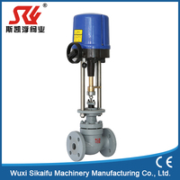 New design electrical flow ss304 regulating valve for water with great price