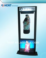 New Invention ! magnetic levitation led display rack for underwear, knitted bra pattern