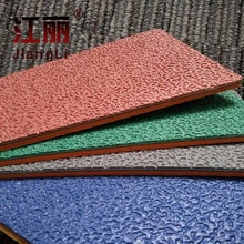 Hot selling outdoor PVC material running track sports flooring