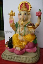 Guo hao hot sale custom polyresin 3d hindu god statues for sale