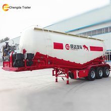 40Ton Loading Double axles Bulk Cement Hopper Trailer In Truck SemiTrailer or Semi-trailer Truck For Top Market