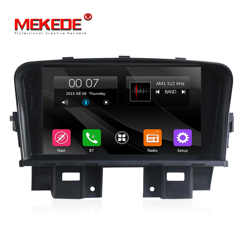 Wince 6.0 Car GPS Navigation multimedia radio for chevrolet cruze 2008 2009 2010 2011 with dvd player 3G Bluetooth