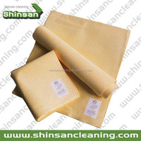 Superior pu chamois towel /microfiber drying towel/wholesale microfiber towel for car cleaning