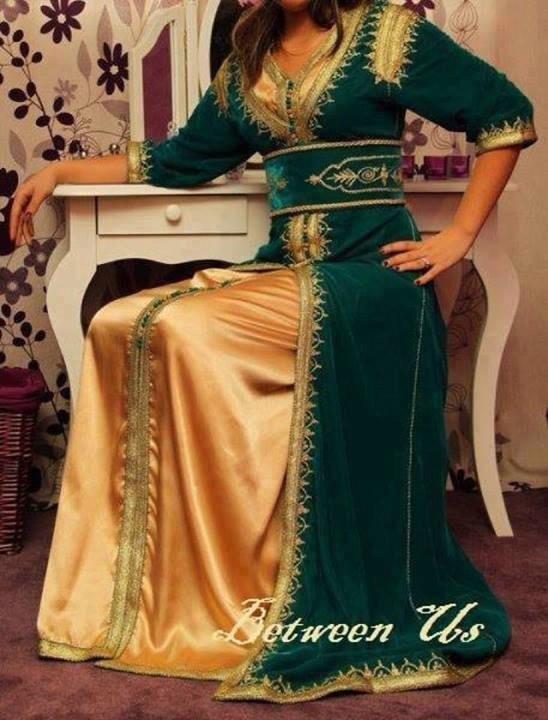 Платье в марокканском стиле