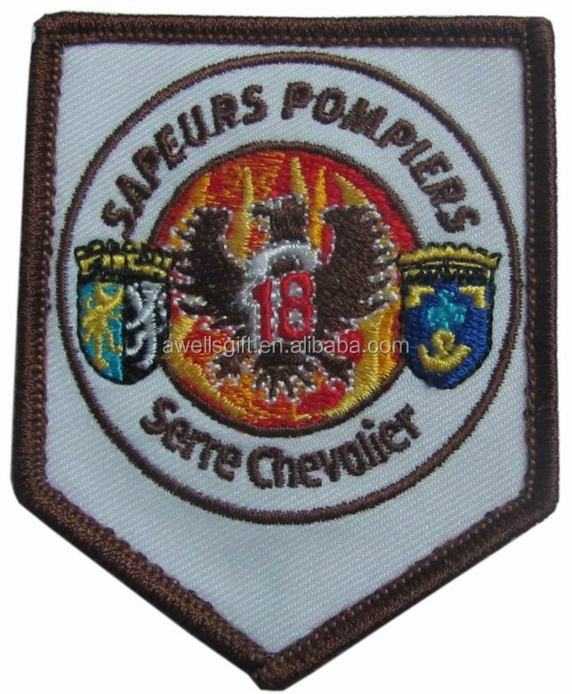 airport uniform iron on embroidery patch