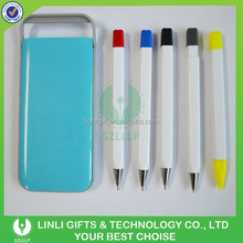 Promotioanal Gifts Multifunction Plastic Ball Pen,Highlighter Pen and Pencil