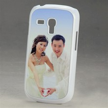 2D PC plastic sublimation blank cover case for Samsung Galaxy S3mini heat transfer DIY printing