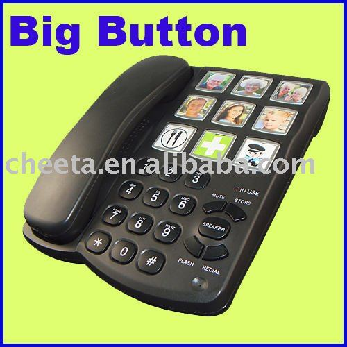 big button elderly telephone